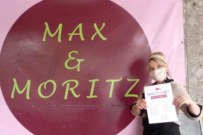 Besitzerin vom Café Max und Moritz in Augsburg